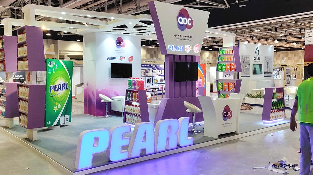 QATAR DETERGENT COMPANY 3D Visualization - Creative Fox