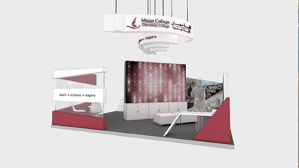MAJAN COLLEGE 3D Visualization - Creative Fox