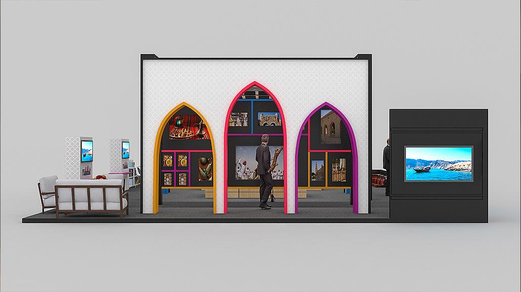 MUSANDAM STAND 3D Visualization - Creative Fox